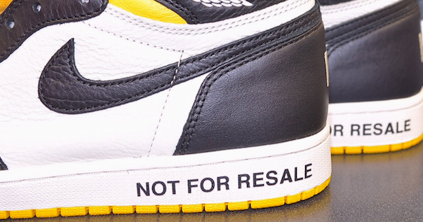 sports shoes 64e4b aa0e3 Jordan Brand Have had Enough of Sneaker Reselling
