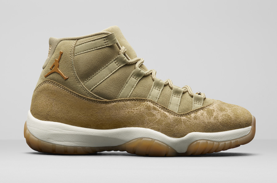 "The Air Jordan 11 ""Neutral Olive"" Releases This Month!"