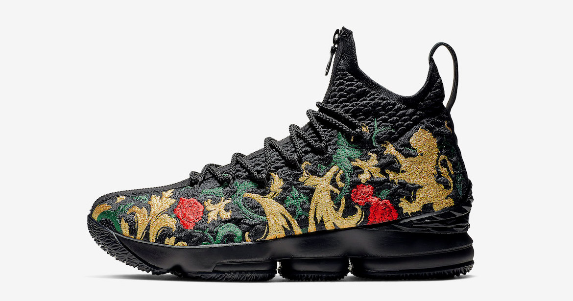 "It Looks Like the KITH x Nike LeBron 15 ""Closing Ceremony"" is Releasing Again"