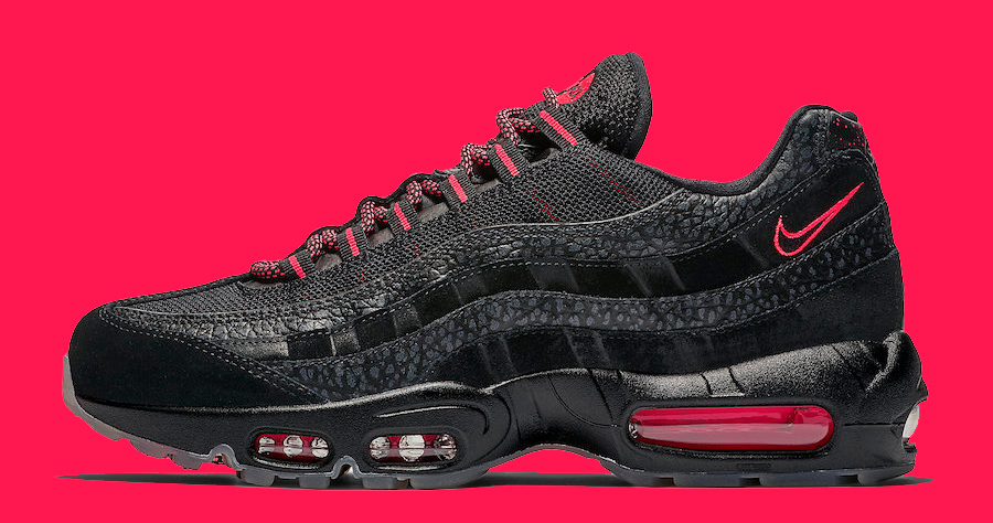 7e4ce55ce199ec This Air Max 95 Rocks the Classic Black Infrared Colorway - HOUSE OF ...
