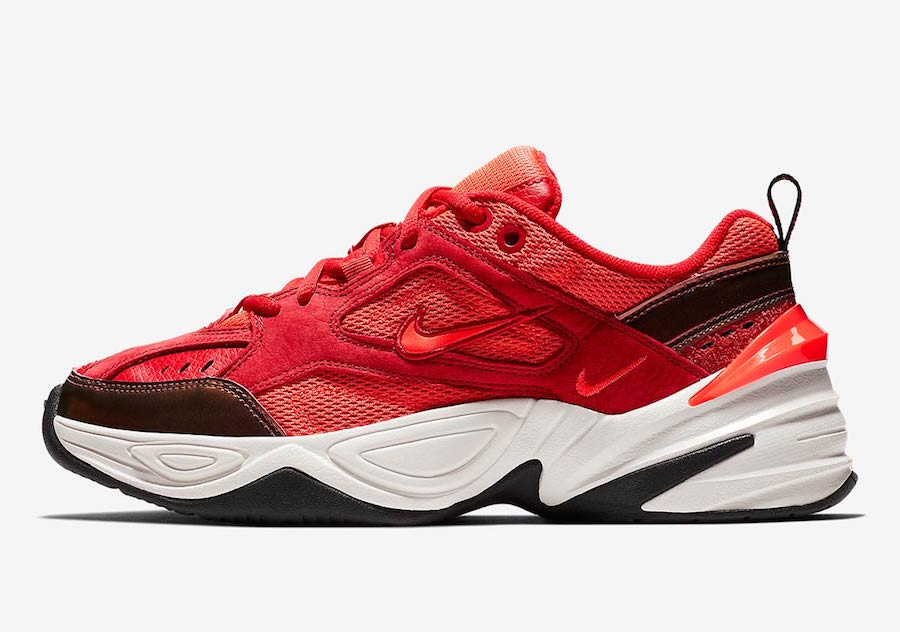 fe5bfe98 Nike's Newest Dad Shoes Gets Wrapped in Red Suede - HOUSE OF HEAT ...