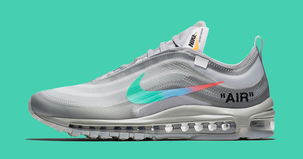 "Official Images Off White x Nike Air Max 97 ""Menta"
