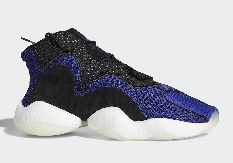 Purple hits the adidas Crazy BYW