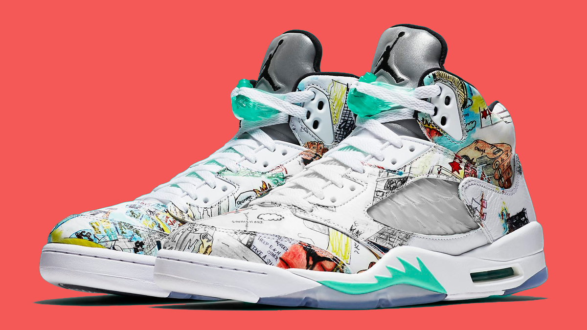 "Official Images // Air Jordan 5 ""Wings"""