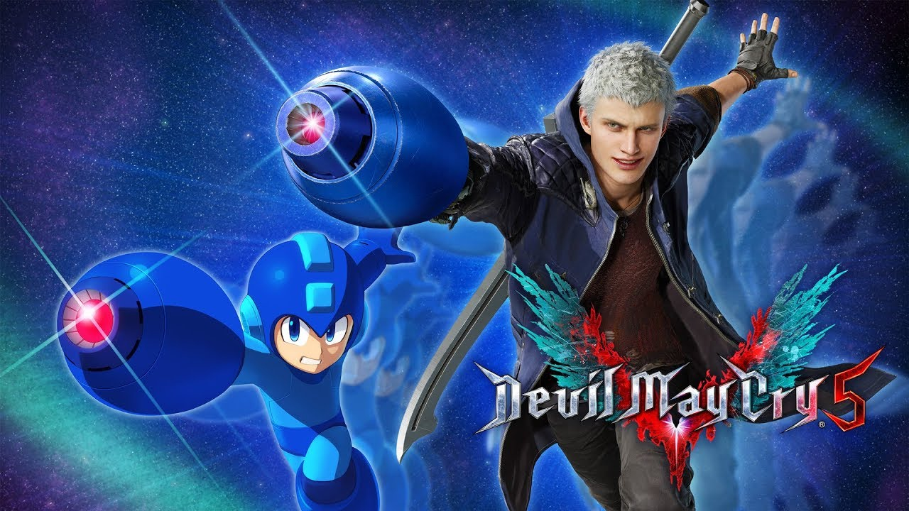 Devil May Cry 5 features Mega Man's Mega Buster