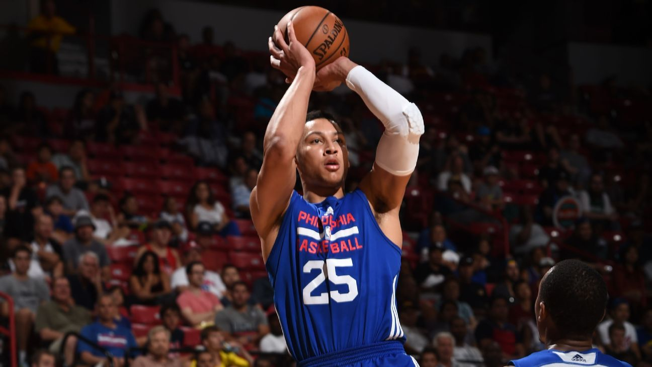 Ben Simmons Bodies a Twitter Troll Over his 3 Point Ability