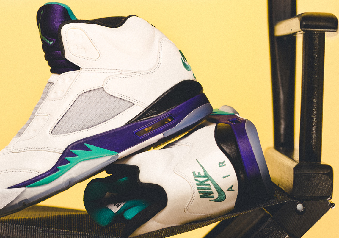 "The Air Jordan 5 NRG ""Fresh Prince"" Will Drop in the OG West Philly Sneaker Shop"