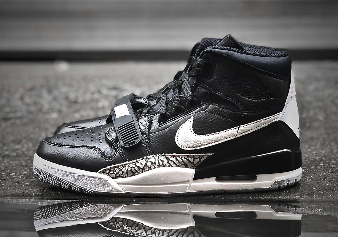 "Available Early // Air Jordan Legacy 312 ""Black Cement"""
