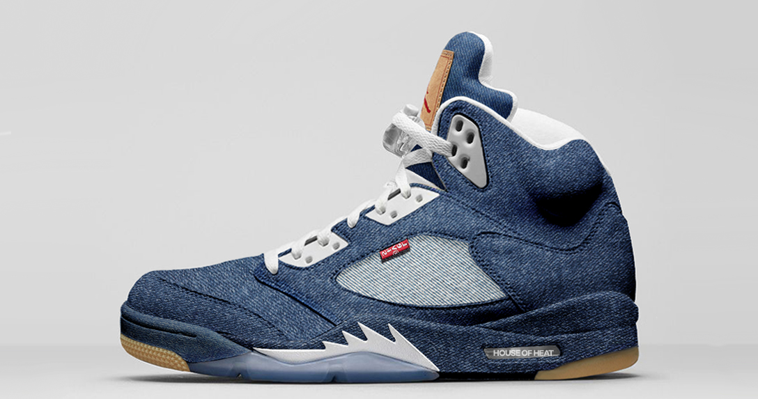 best loved 3040a ac15d Concept Lab // Levi's x Air Jordan 5