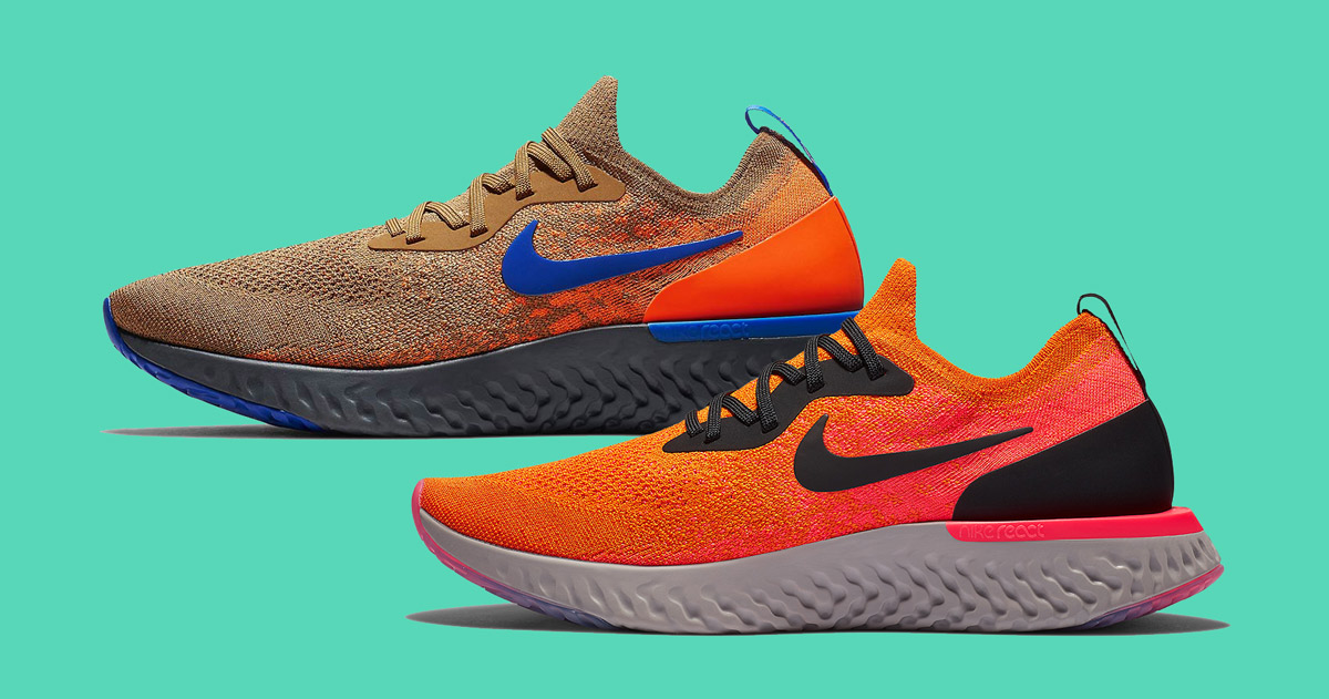 9b6bec50cbdc Two New Fall Colorways for the Nike Epic React Surface - HOUSE OF ...