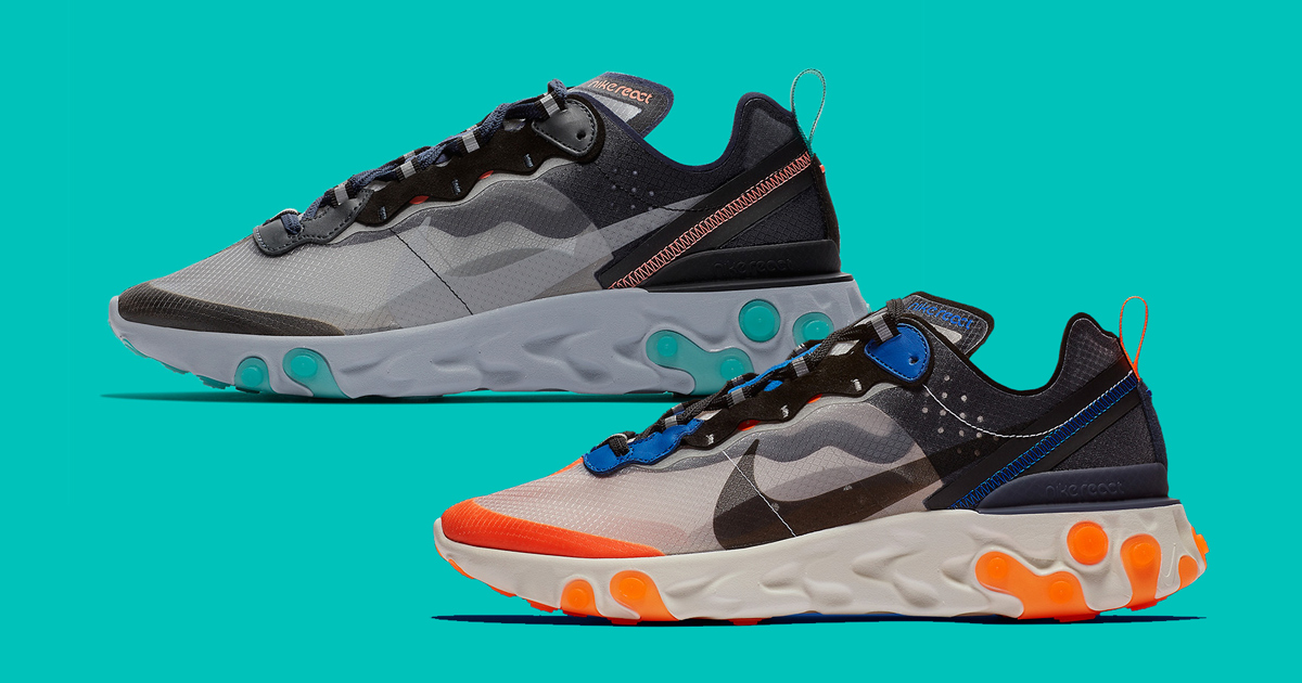 The Nike React Element 87 heads to MSG and South Beach!