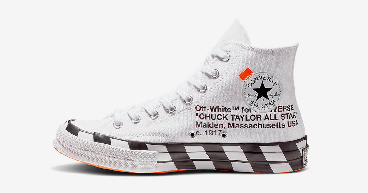 Where to Buy the OFF-WHITE x Converse Chuck 70