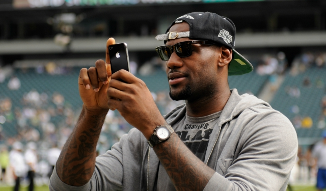 LeBron James has More Instagram Followers than the Top 10 NFL Players Combined