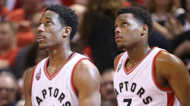 VIDEO // A Sad Kyle Lowry is Still Doing His Pregame Handshake with an Imaginary DeRozan