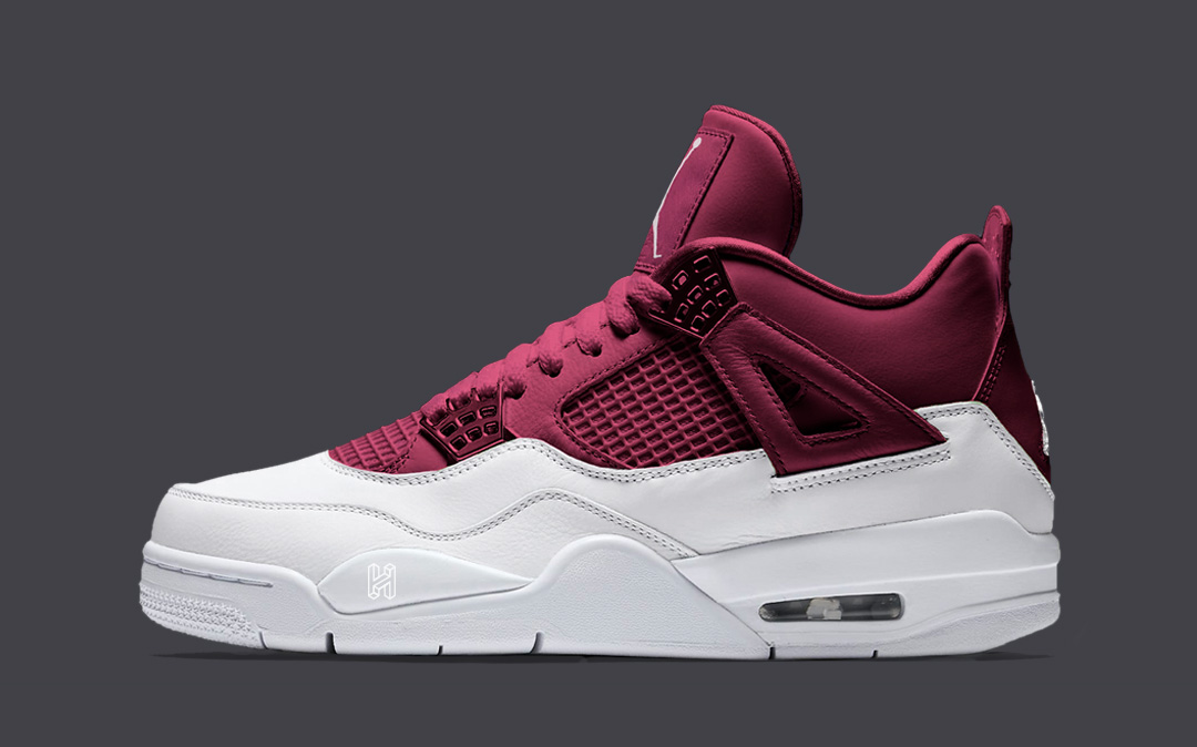 "Concept Lab // Air Jordan 4 ""Red Velvet"""