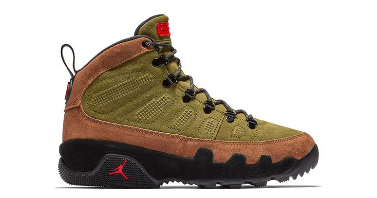 The Jordan 9 Sneakerboot has Been on a Diet of Beef n' Broccoli