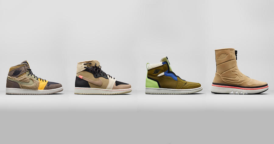 "A Detailed Look at the Air Jordan 1 Womens ""Utility Pack"""