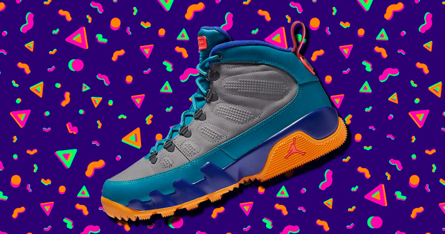 The Next NRG Jordan 9 Sneakerboot Has Some Serious 90s Flavor