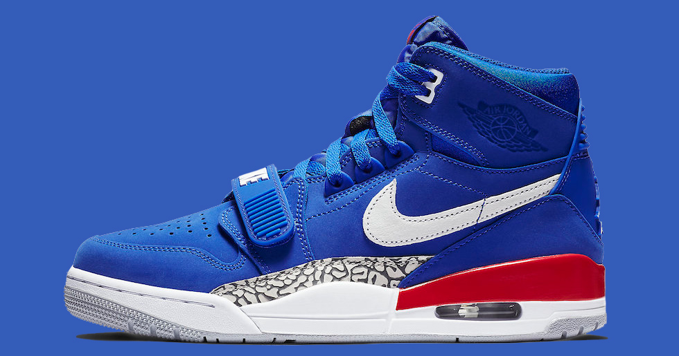 "Official Images // Air Jordan Legacy 312 ""Pistons"""
