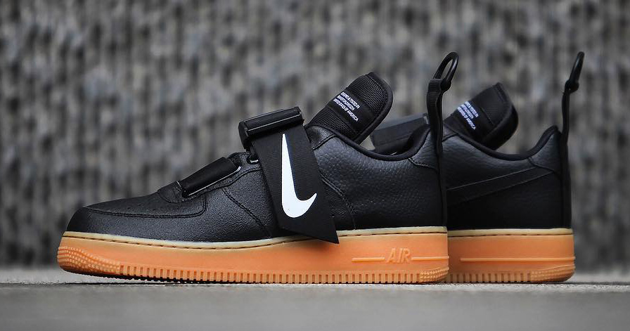 """Nike's """"Utility"""" Air Force 1 to Arrive in Classic Black and Gum"""