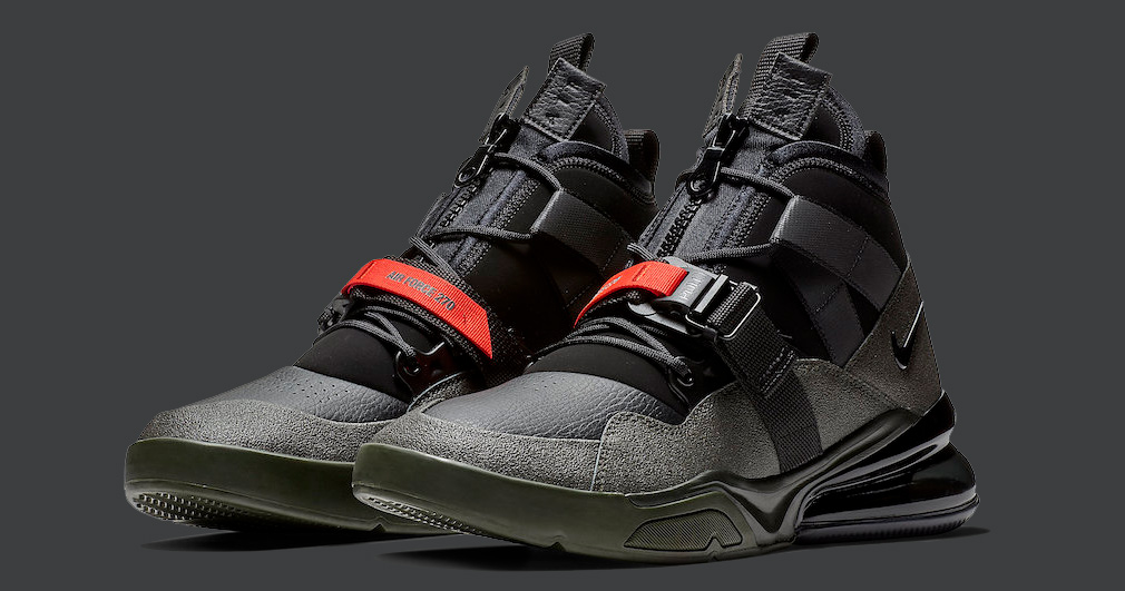 size 40 a279a 78702 Nike Air Force 270 Utility Arrives in  Sequoia
