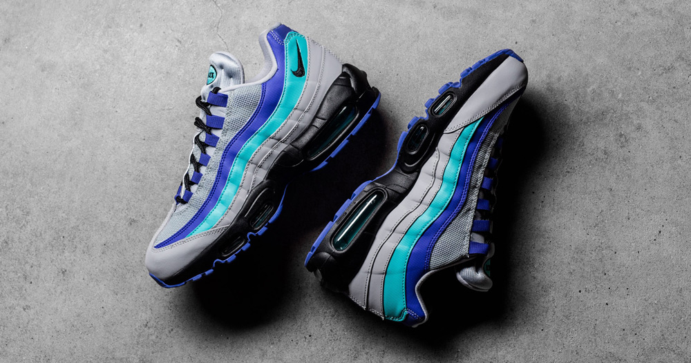 "The Air Max 95 ""Alternate Grape"" Drops Today!"