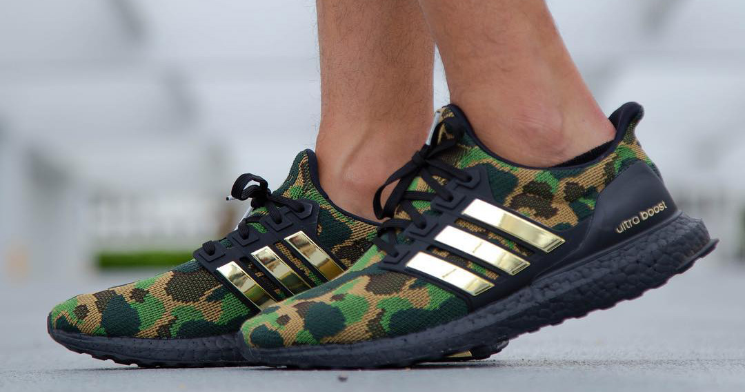 On Foot Look // Bape x adidas Ultra BOOST