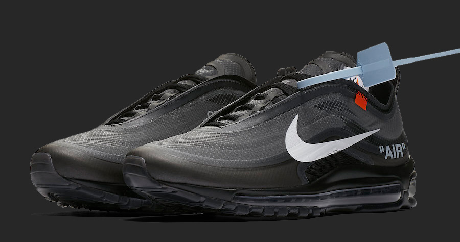 online retailer 0de93 9dd6a The Black OFF-WHITE x Nike Air Max 97 Drops Next Month ...