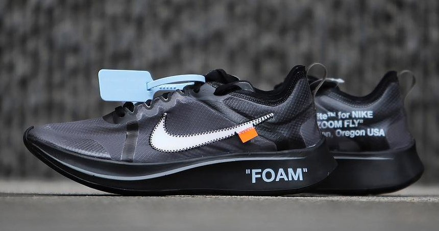 Off White Nike Zoom Fly Black AJ4588 001 | SneakerFiles