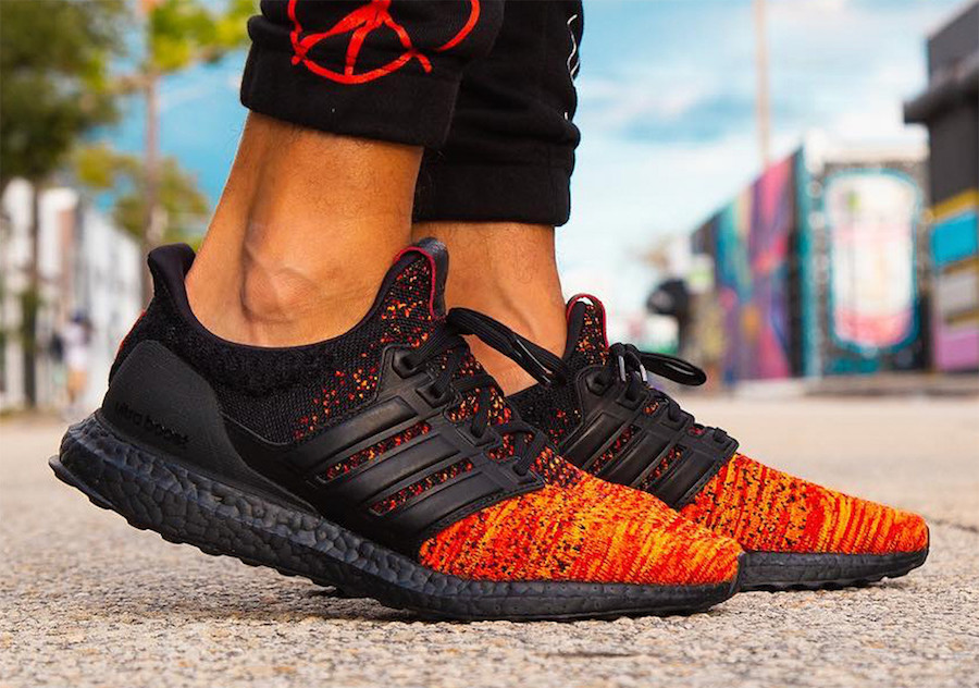 "On Foot Look // adidas Ultra BOOST x Game of Thrones ""House Targaryen Dragons"""