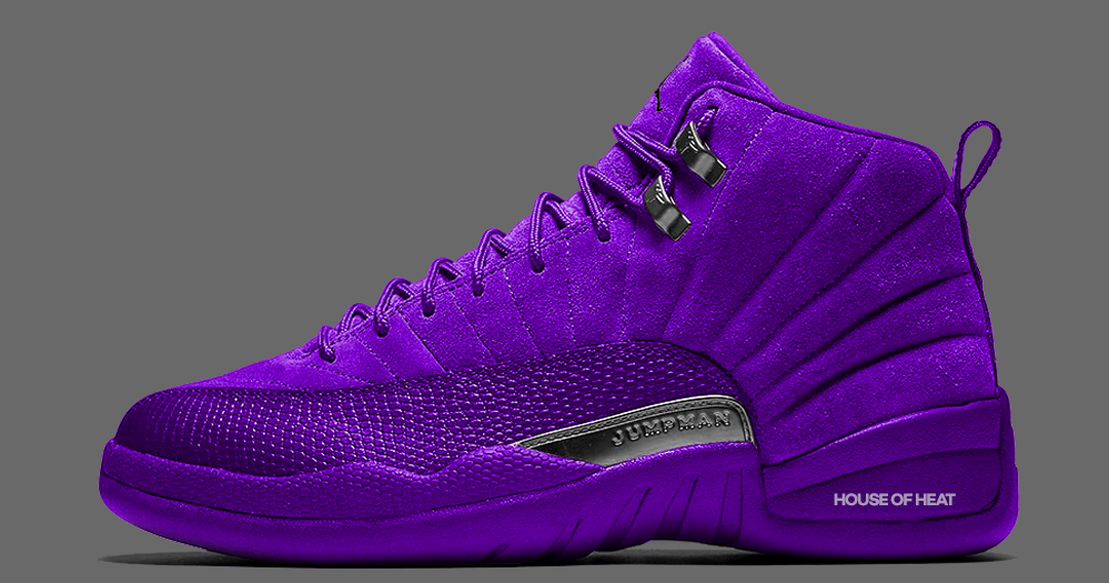 "Concept Lab // Air Jordan 12 ""Court Purple"""