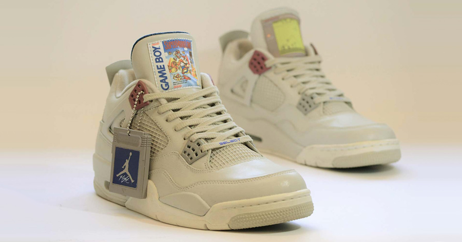 "Bring Your Best Sneaker Game with These ""Game Boy"" Air Jordan 4s"