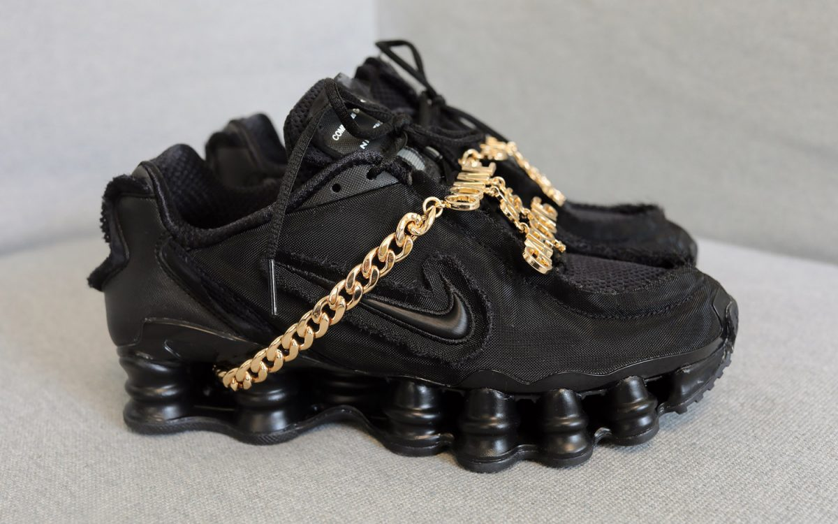 Comme des Garcons Add Some Serious Sauce to the Nike Shox TL