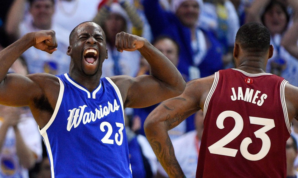 VIDEO // Draymond Green Dares You to Name 5 Better Defenders Than Him