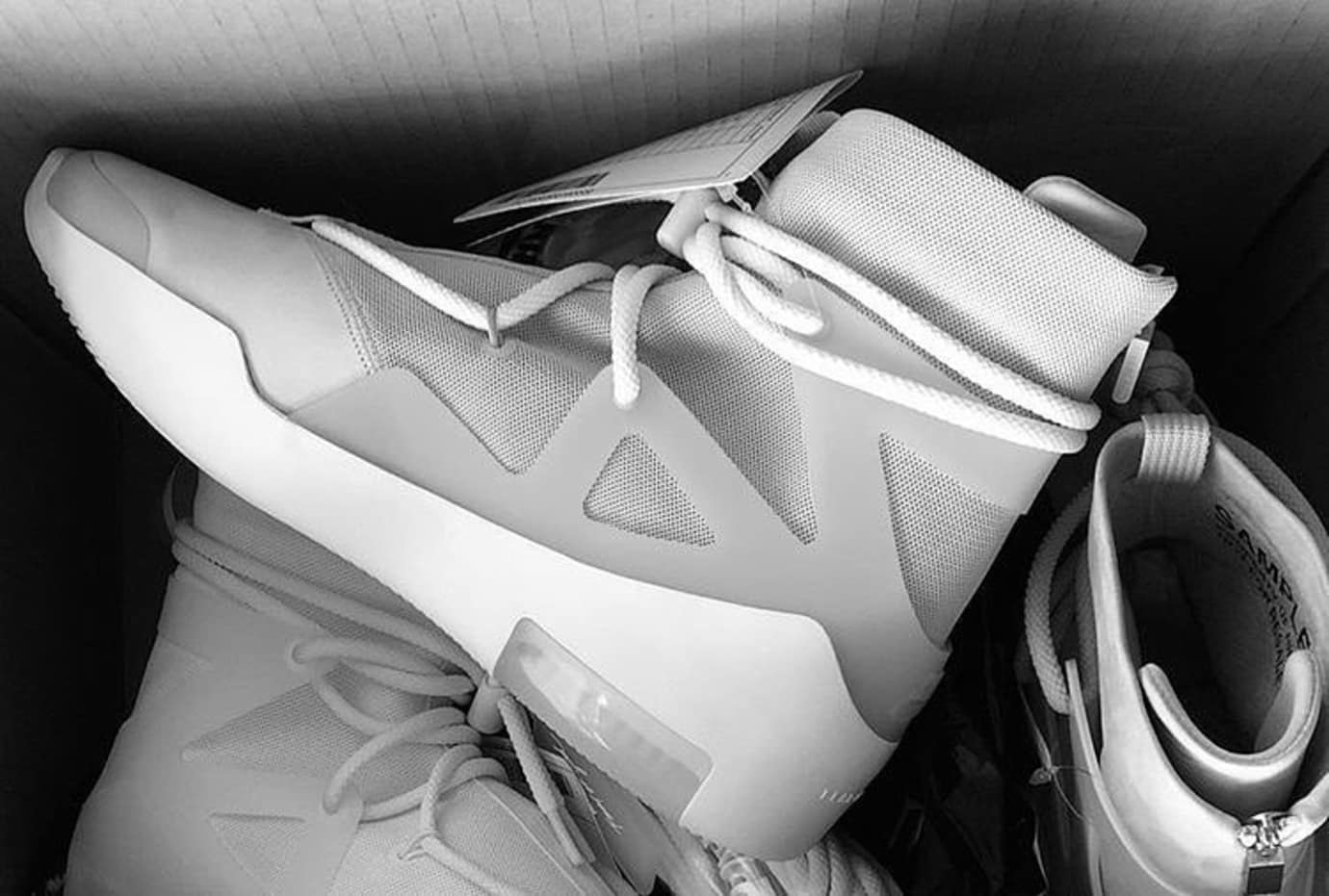 The Best Look Yet at the Fear of God x Nike Air FOG