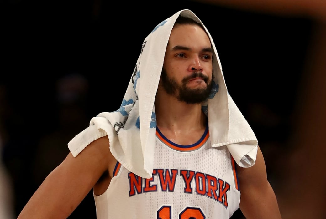 Here's How Much Money the Knicks Still Owe Joakim Noah