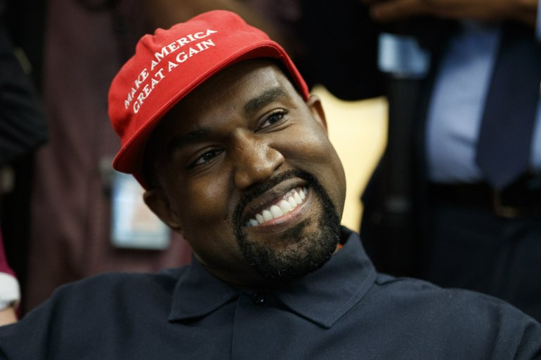 "Watch Kanye West inform Donald Trump of the ""YEEZY Effect"""