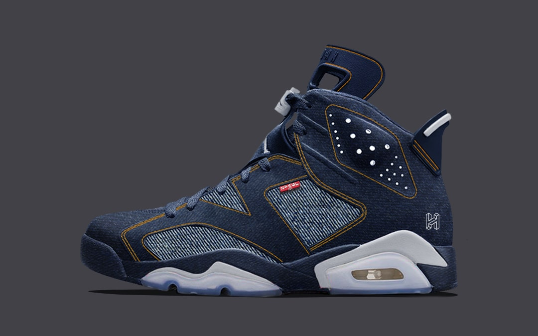 buy popular 1bd82 90914 Concept Lab // Levi's x Air Jordan 6 - HOUSE OF HEAT ...