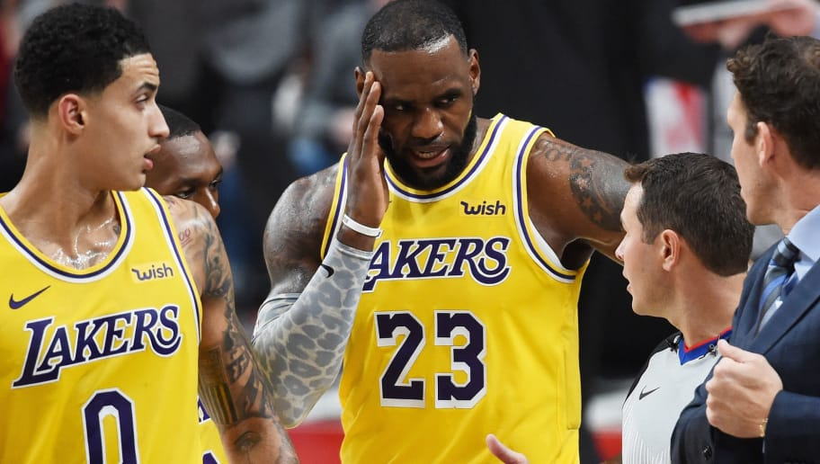 LeBron Wants to Let You Know that the Lakers Aren't Like Oatmeal