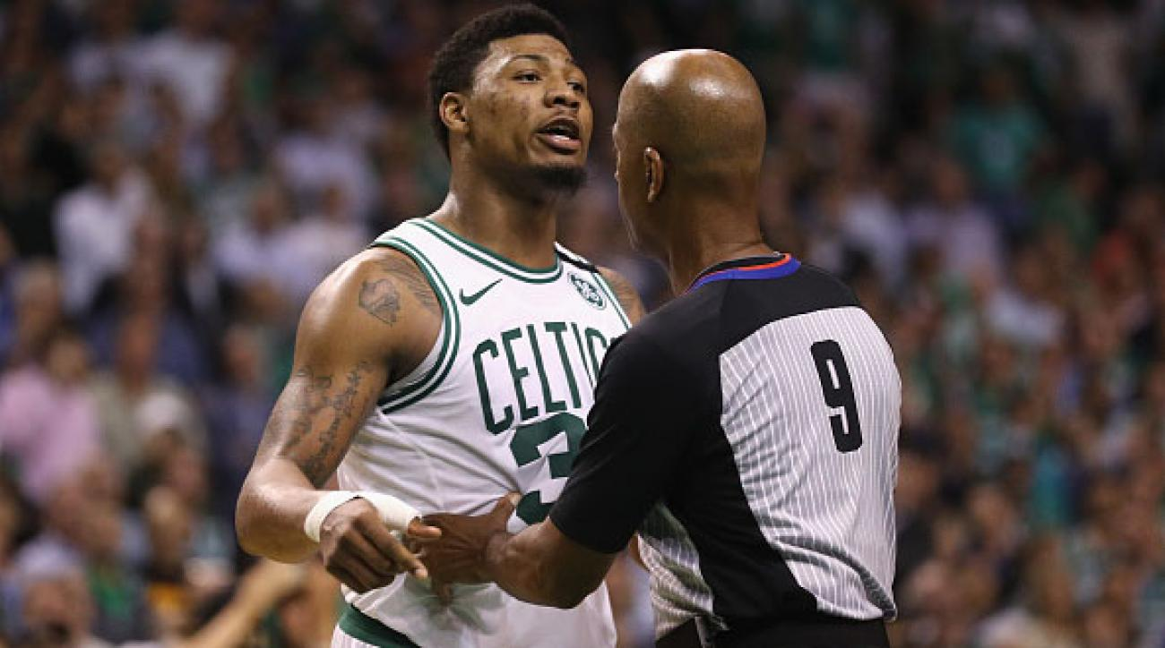 Marcus Smart Wants to Fight JR Smith — Smith Says Bring it On