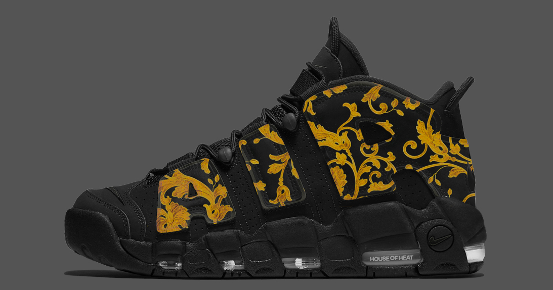 "Concept Lab // Nike Air More Uptempo ""Versace"""