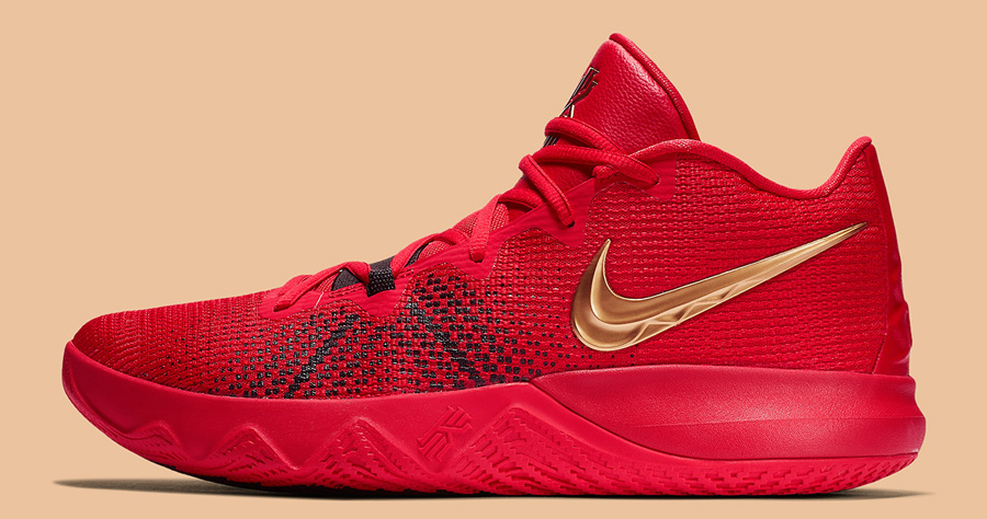49ers Fans Will be Fanatical About This Kyrie Flytrap Colorway
