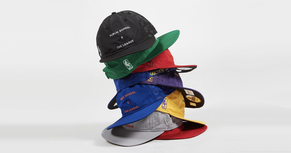 "Public School & New Era Celebrate the Return of the NBA  With ""The League"" Headwear"