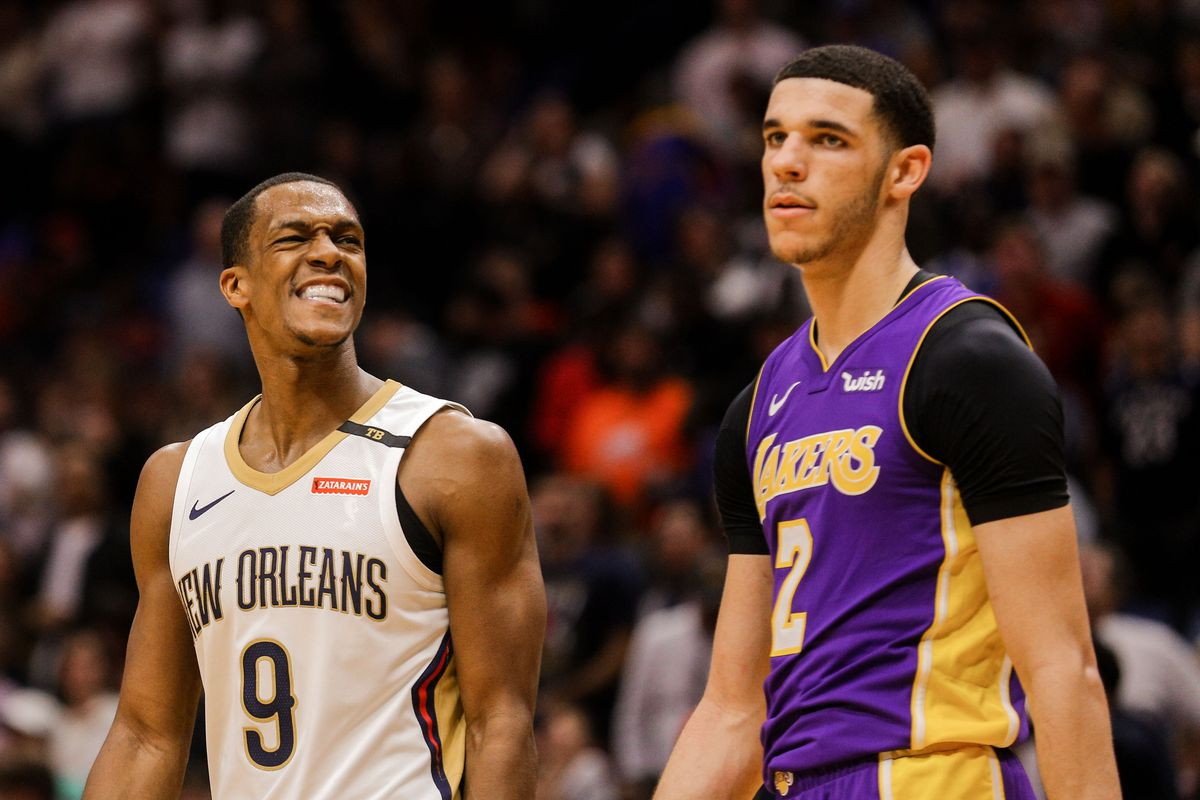 VIDEO // Rajon Rondo Has An Passively Funny Response When Asked About Differences Between Him and Lonzo