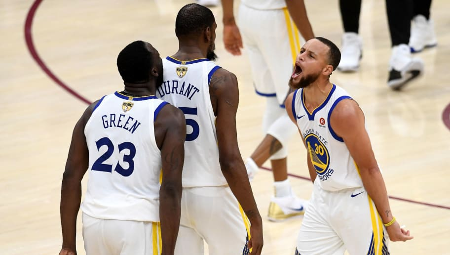 Steph Curry Downplays Ugly Argument Between Draymond Green and Kevin Durant