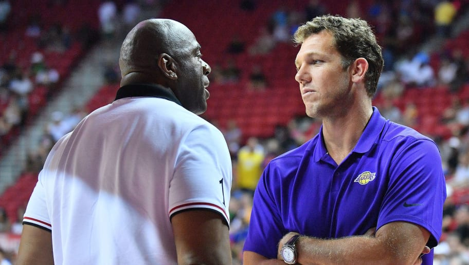 The Lakers Were Never Going to Give Luke Walton a Chance