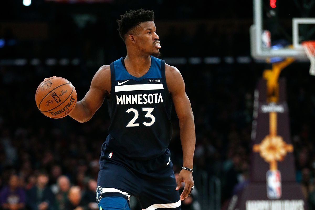 VIDEO // Jimmy Butler Plays Multiple Possessions With His Hand Down His Shorts