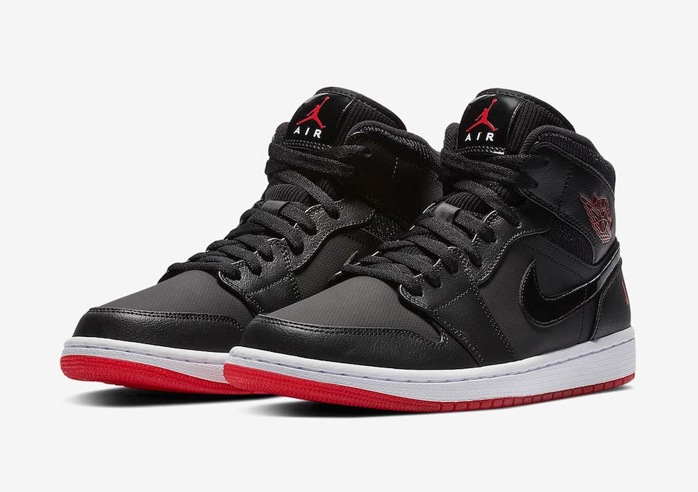 "Available Now // Air Jordan 1 Mid ""Bred"""
