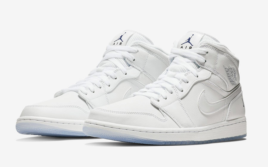 "Available Now // Air Jordan 1 Mid ""White Ice"""