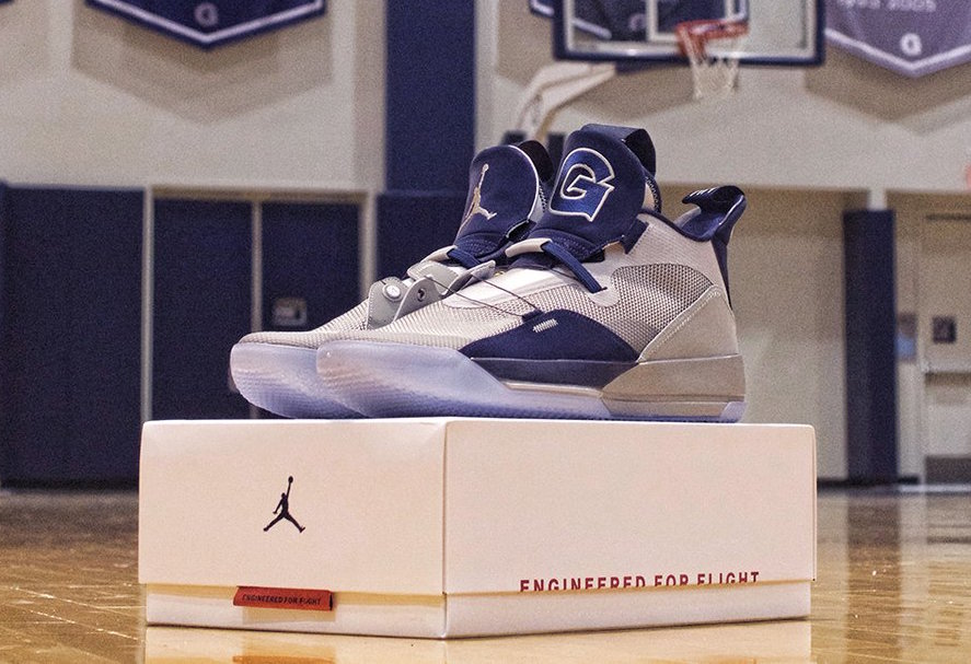Georgetown Flex Their Air Jordan 33 PEs
